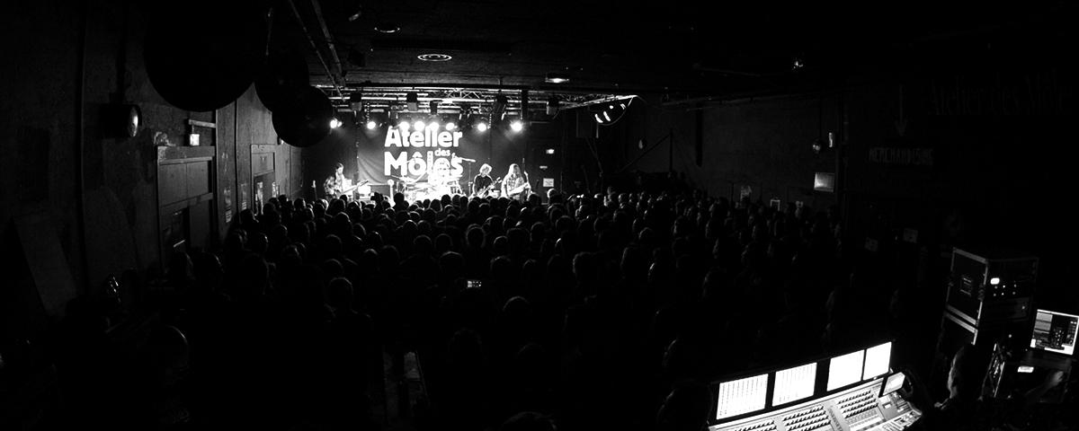 Atelier des Môles – Salle rock à Montbéliard depuis 1983